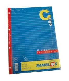 RICAMBIO RAMBLOC RINFORZATO A4 80GR C