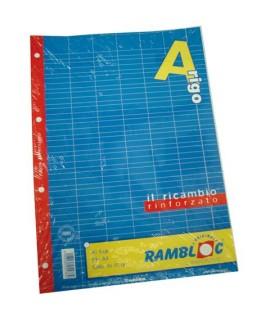 RICAMBIO RINFORZATO A4 80GR 40FF A