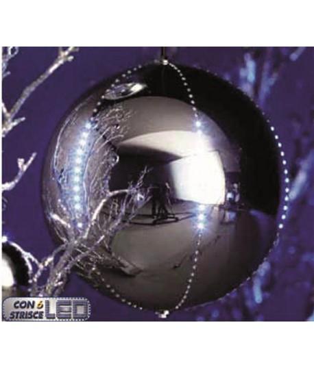 SFERA ARG.C/LED BIANC.D300 10706 SNOWFAL
