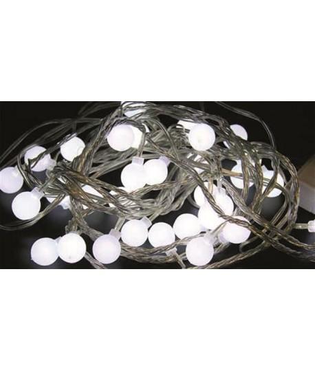 LUCI BIANCHE 32 GLOBI LED 10612