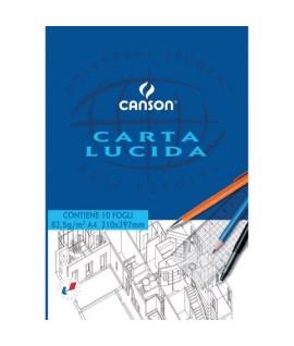 CARTA LUCIDA CANSON 80G A4 10 FF