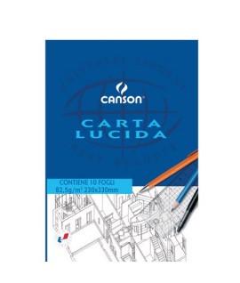 CARTA LUCIDA CANSON 05826 80G A4+ 10 FF