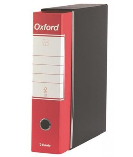 REGISTRATORE OXFORD G85 PROT.D8 ROSSO