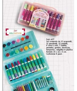 SET DELL'ARTISTA LEBEZ 437 49PZ