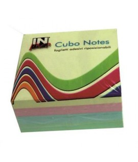CUBO NOTES INLINEA10524 PASTELLO MM76X76