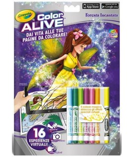 ALBUM CRAYOLA 1050 COLOR ALIVE FORESTA