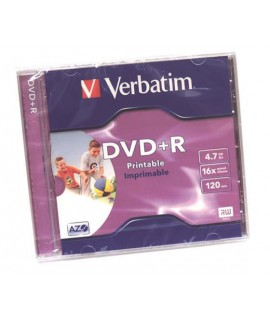 DVD+R VERBATIM 43508 PRINTABLE 16X 4,7GB