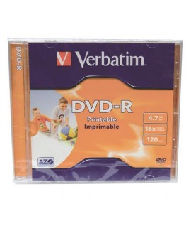 DVD-R VERBATIM 43521 PRINTABLE 16X 4,7GB