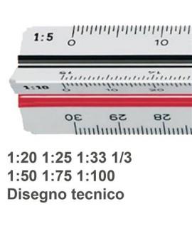 SCALIMETRO M+R 16350010 A 6 SCALE 30CM