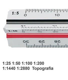 SCALIMETRO M+R 16360010 A 6 SCALE 30CM