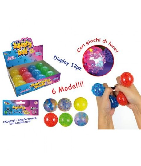 TOYS 26810 SQUISHY BALL CON LUCE