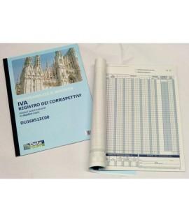 REG. CORRISPETTIVI 12PG C/C DU168512C00