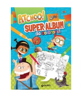 ATCHOO! SUPER ALBUM DA COLORARE 75718H
