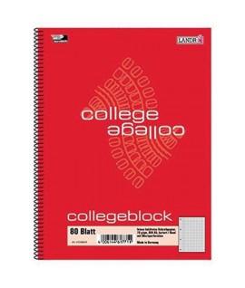 BLOCCO COLLEGEBLOCK A5 5MM SPIRALE 80FF
