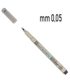 PENNARELLO PIGMA MICRON 0,05 NERO 12PZ