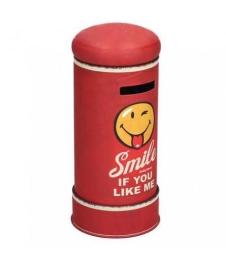 SALVADANAIO METALLO C/SMILE 122089000