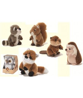 PLUSH 15802 ANIMALI FORESTA CM 16