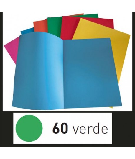 CARTELLA SIMPLEX FAVINI VERDE 50PZ