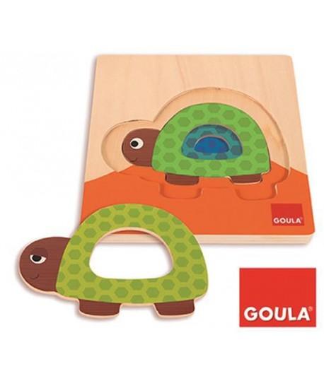 GOULA 53127 PUZZLE TARTARUGA