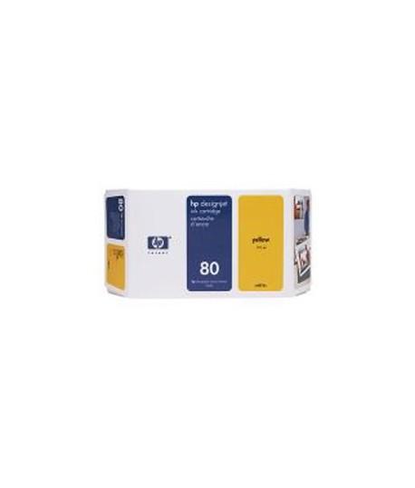 INKJET HP C4873A N.80 GIALLO 175ML