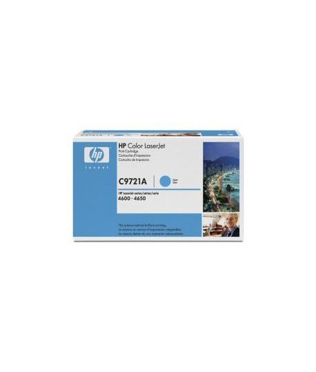 TONER HP C9721A LJ 4600 CIANO