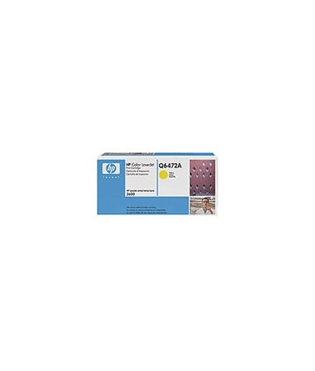 TONER HP LJ Q6472A 3800 GIALLO 4000 PG