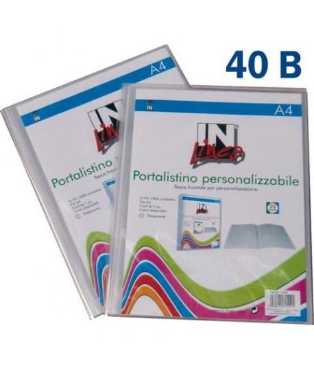 PORTALISTINI PERSON INLINEA 22X30 40BS