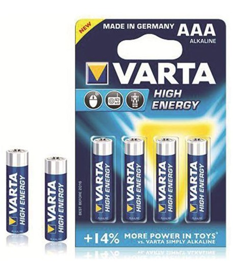 PILA VARTA H.ENERGY AAA 1,5V 4PZ