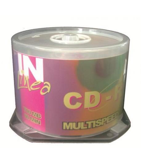 CD-R IN LINEA 700 MB 80 MIN 50PZ