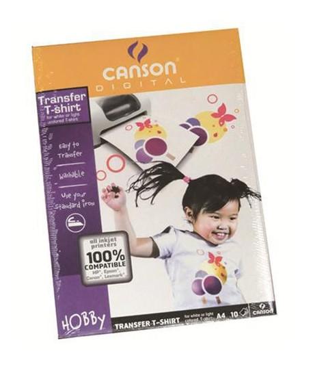 CARTA CANSON 4567-480 T-SHIRT A4 10FF