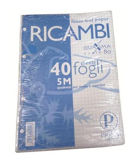 RICAMBIO PIGNA FORATO QUAXIMA A4 40FF 5M
