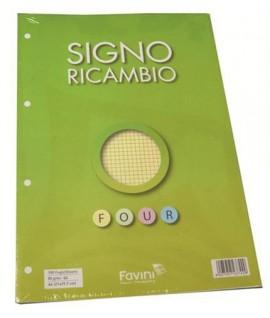 RICAMBIO FAVINI A4 PRO 4M 4 COLORI 100FF