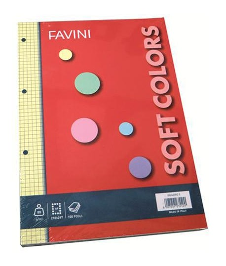 RICAMBIO FAVINI A4 PRO 5M 4 COLORI 100FF