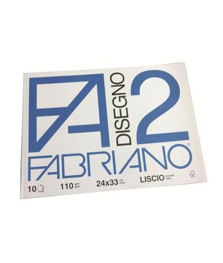 ALBUM FABRIANO 24X33 LISCIO 10 FF