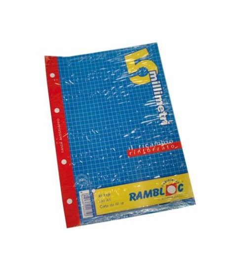 RICAMBIO RINFORZATO A5 GR80 5MM