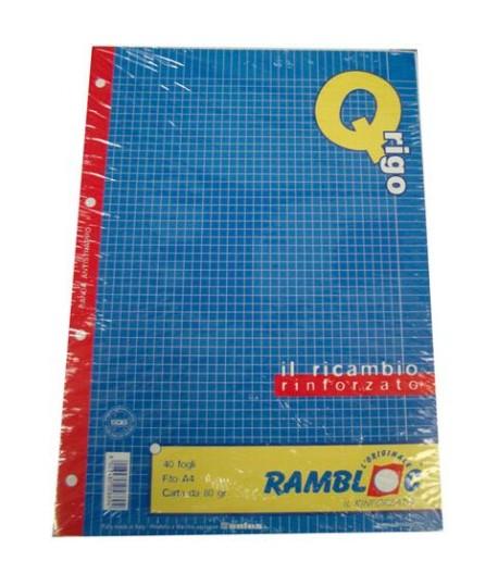 RICAMBIO RAMBLOC RINFORZATO A4 80GR Q