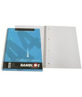 MAXI RAMBLOC SPIRALE FORATO A4 1R
