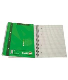 MAXI RAMBLOC SPIRALE FORATO A4 5MM