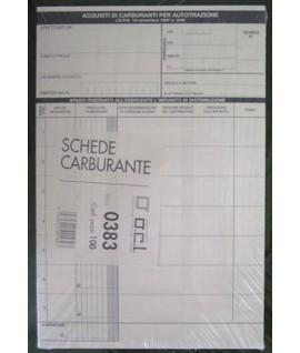 SCHEDA ACQUISTO CARBURANTE OCL 0383 100P