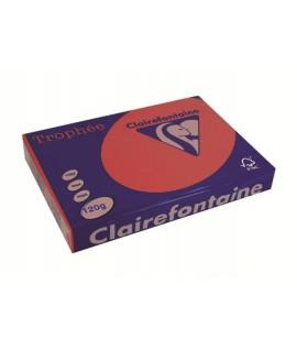 CARTA TROPHEE 120G A4 ROSSO 1227 250F