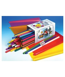 CARTA TRASPARENTE COLOR 70X100 42G 100RT