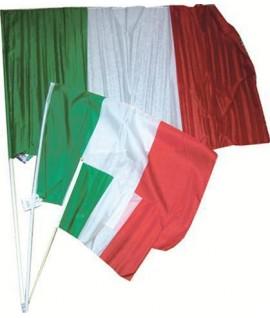BANDIERA ITALIA 90*150 C/ASTA