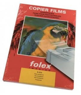 FILM FOLEX TRASPARENTE X-10.0 A4 100 FF