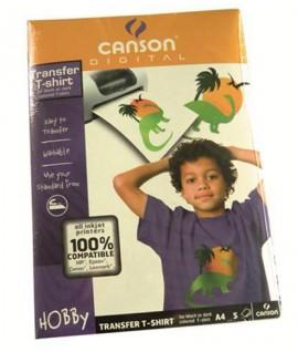 FILM CANSON TRASER T-SHIRT BLACK A4 5F
