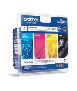 INKJET BROTHER LC1100 HIGH YELD VALUE P.