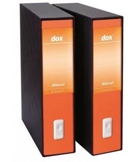 REGISTRATORE DOX 2 PROT.D8 ARANCIO