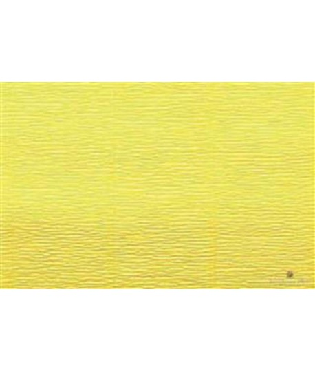 CARTA CRESPA 180G H50 GIALLO 575 5RT