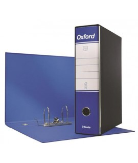 REGISTRATORE OXFORD G85 PROT.D8 BLU