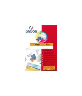 CARTA CANSON NIDO APE 170G A4 VERDE 20F