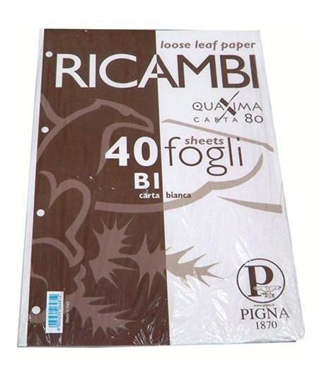 RICAMBIO PIGNA QUAXIMA A4 BIANCO 40FF